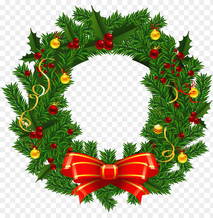 xmas stuff for christmas wreath images clip art.