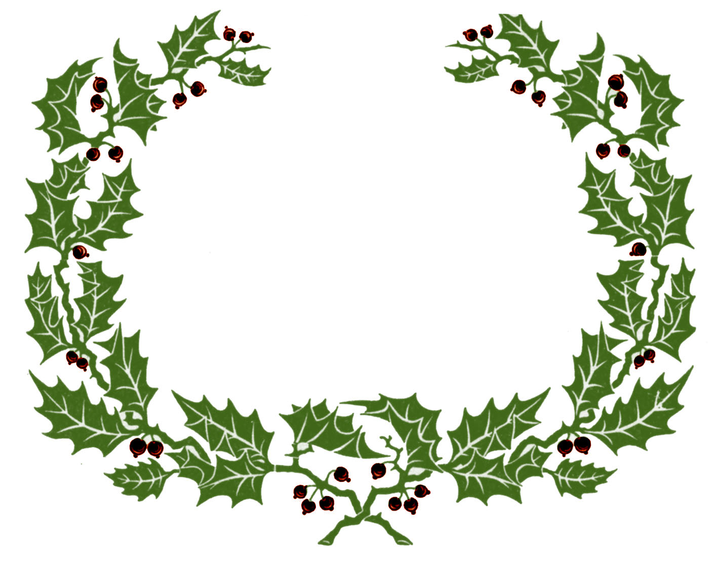 Wreath Frame Clipart.