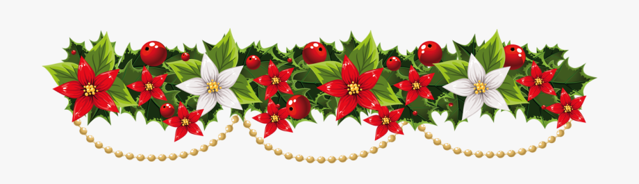 Picture Transparent Stock Garland Clipart.