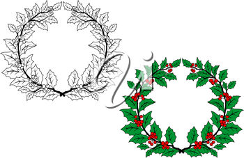 Grapevine wreath clipart » Clipart Station.
