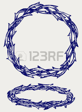 673 Crown Of Thorns Stock Illustrations, Cliparts And Royalty Free.