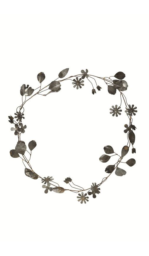 Wreath Tumblr Clipart Black.