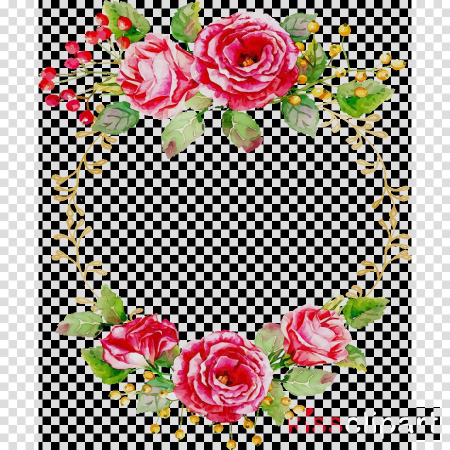 Christmas Wreath Illustration clipart.