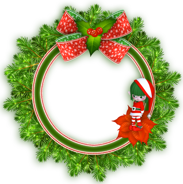 Poinsettia clipart wreath, Poinsettia wreath Transparent.