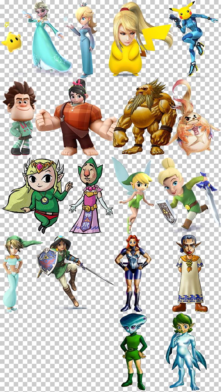 Link Super Smash Bros. for Nintendo 3DS and Wii U Samus Aran.
