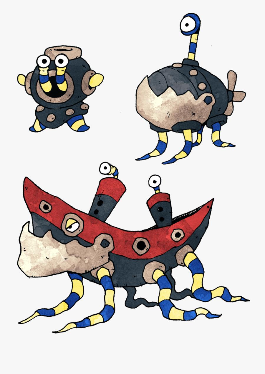 Sea Wreckage Monsters.