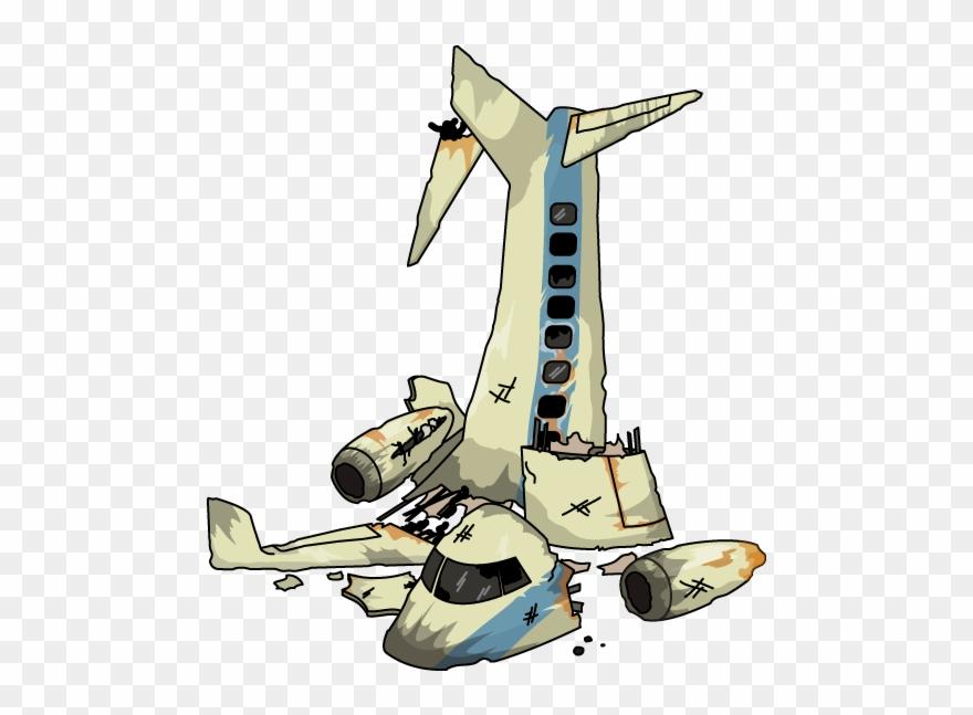 Plane Wreckage.