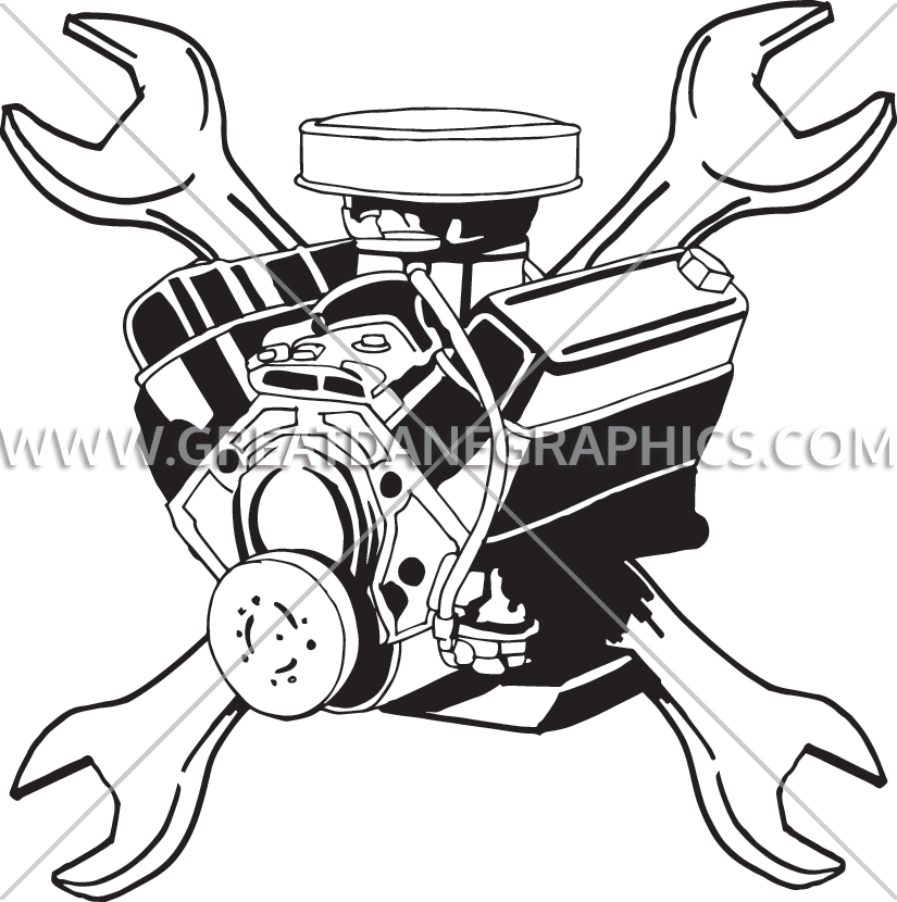 Engine clipart wrench, Engine wrench Transparent FREE for.