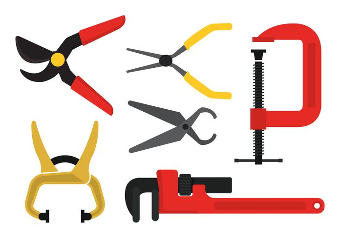 Vector Wrench Icons.