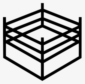 Transparent Wrestling Ring Clipart.