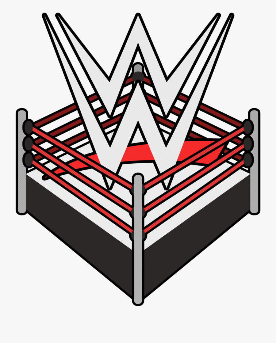 Wrestling Ring Logo.