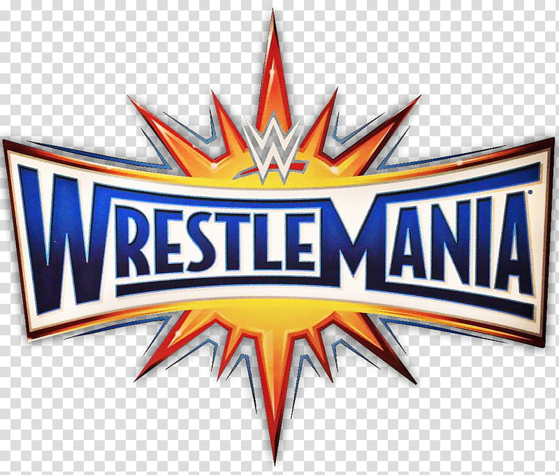 WWE Wrestlemania Logo transparent background PNG clipart.