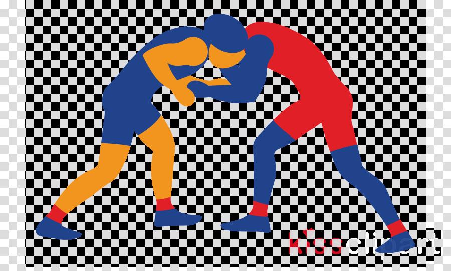clip art wrestling contact sport clipart.