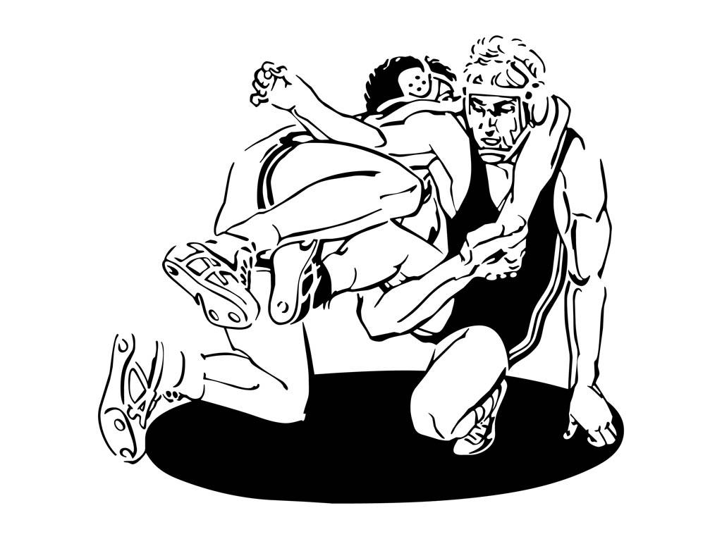 Wrestling Clip Art Free.