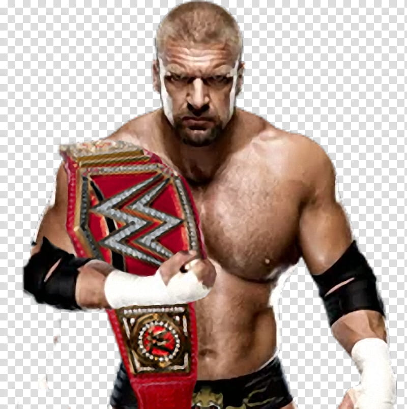 Triple H Render transparent background PNG clipart.