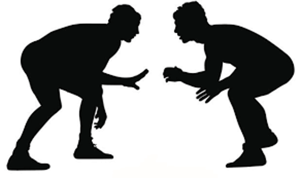 Wrestling.