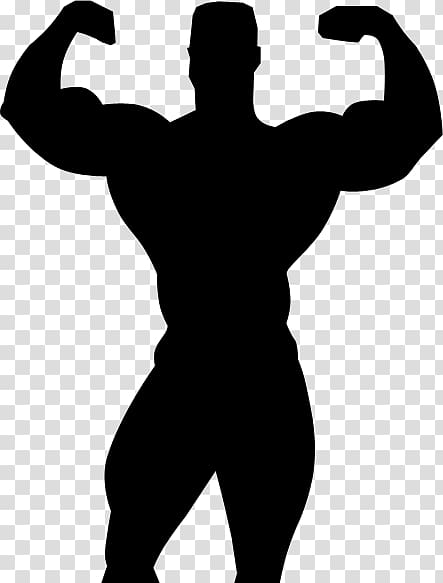 Silhouette Bodybuilding Professional wrestling , Silhouette.