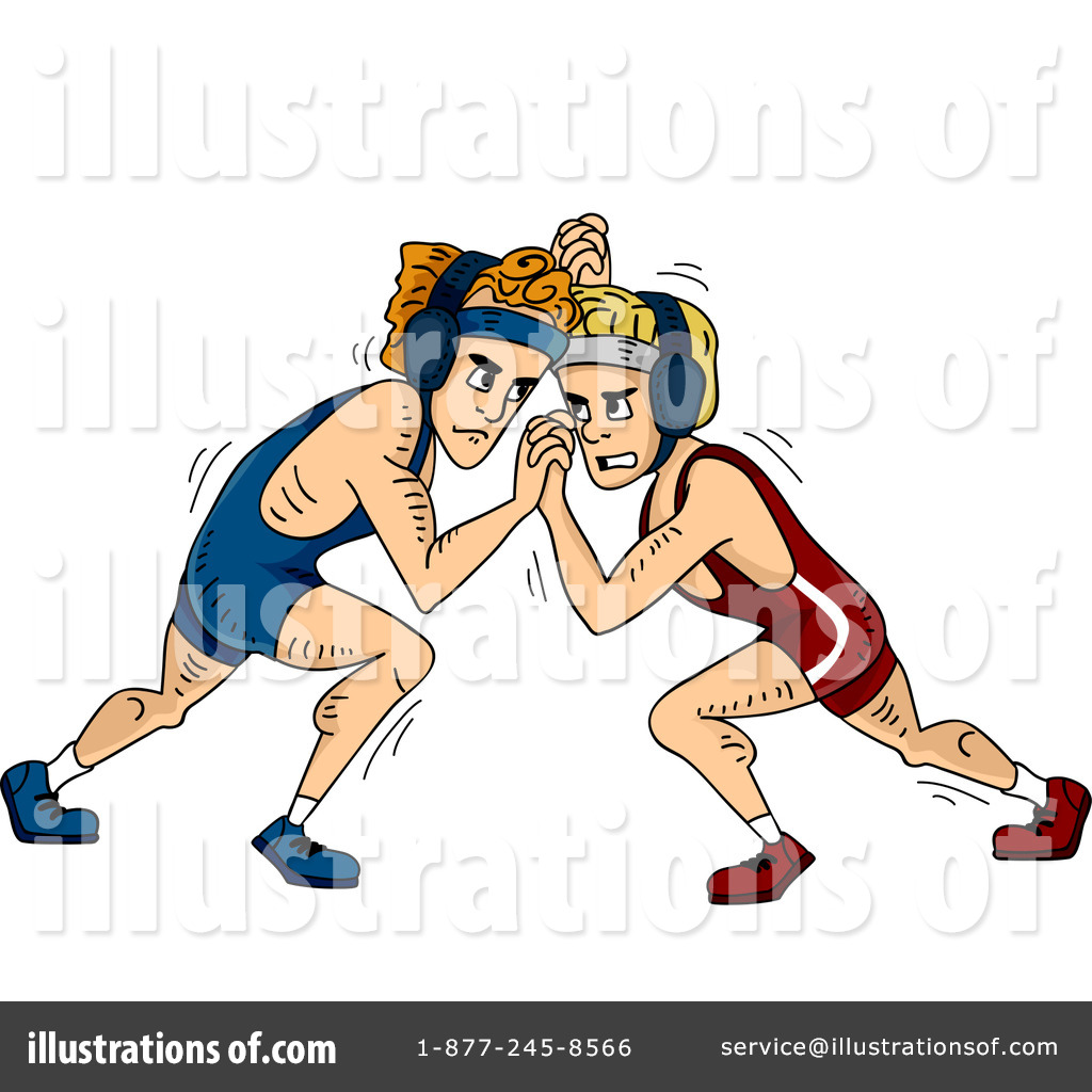 Wrestling Clipart #1276668.