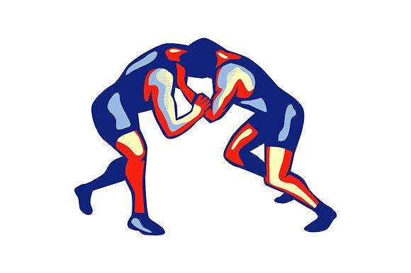 Wrestling HD PNG Transparent Wrestling HD.PNG Images..