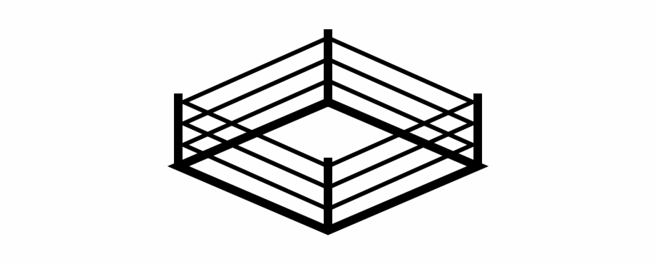 Wrestling Ring Art Free PNG Images & Clipart Download #2594908.