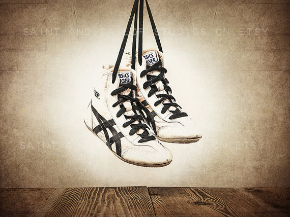 Wrestling Shoes Clipart.