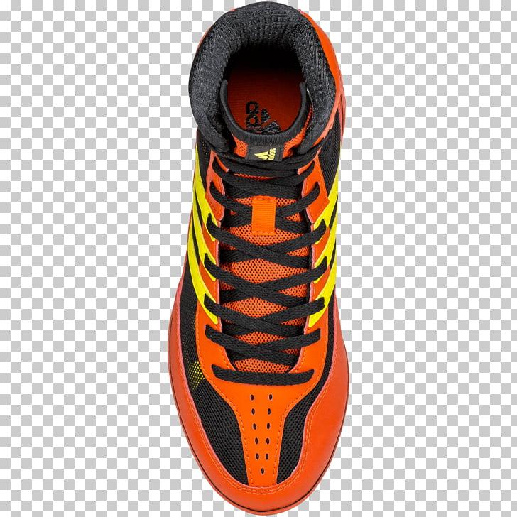 Wrestling shoe Adidas Sneakers Nike, Black Mat PNG clipart.