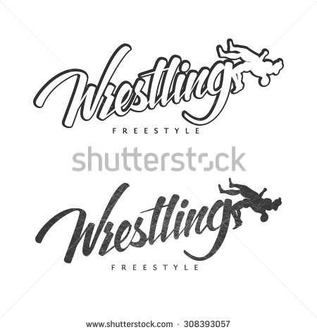 Image result for Wrestling Silhouette Clip Art.
