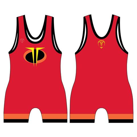 THE SUPERS WRESTLING SINGLET (MADE TO ORDER).