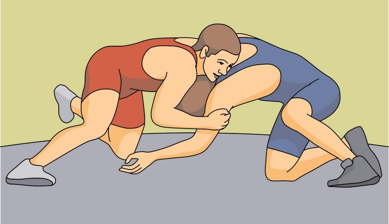 Wrestling clipart lc wrestling clinch clipart.