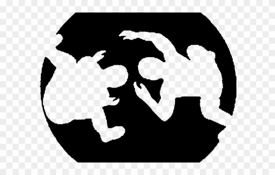 Wrestler Clipart Logo.