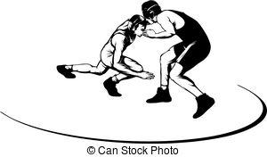 Wrestling Clipart Free.
