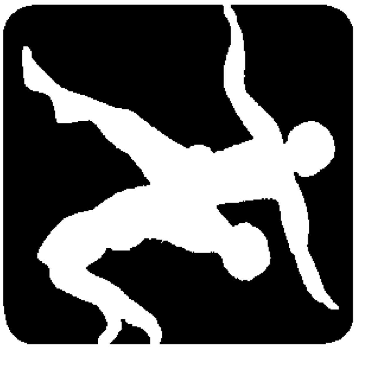 Usa wrestling clipart.