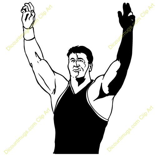 Wrestlers clipart wrestling winner, Wrestlers wrestling.