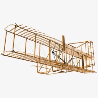 3d Model Of The Flier Made By The Wright Brothers.