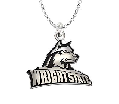 Amazon.com: Wright State University Sterling Silver Cut Out.