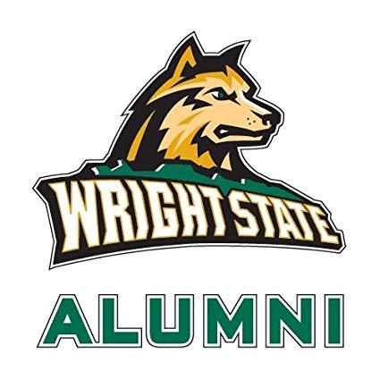 Amazon.com : Wright State Alumni Decal \'Wright State.