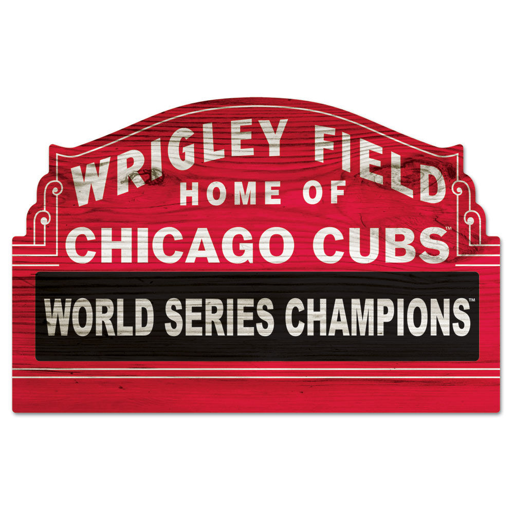 Chicago Cubs Wrigley Field 100 Year Marquee Sign by Fremont Die at.