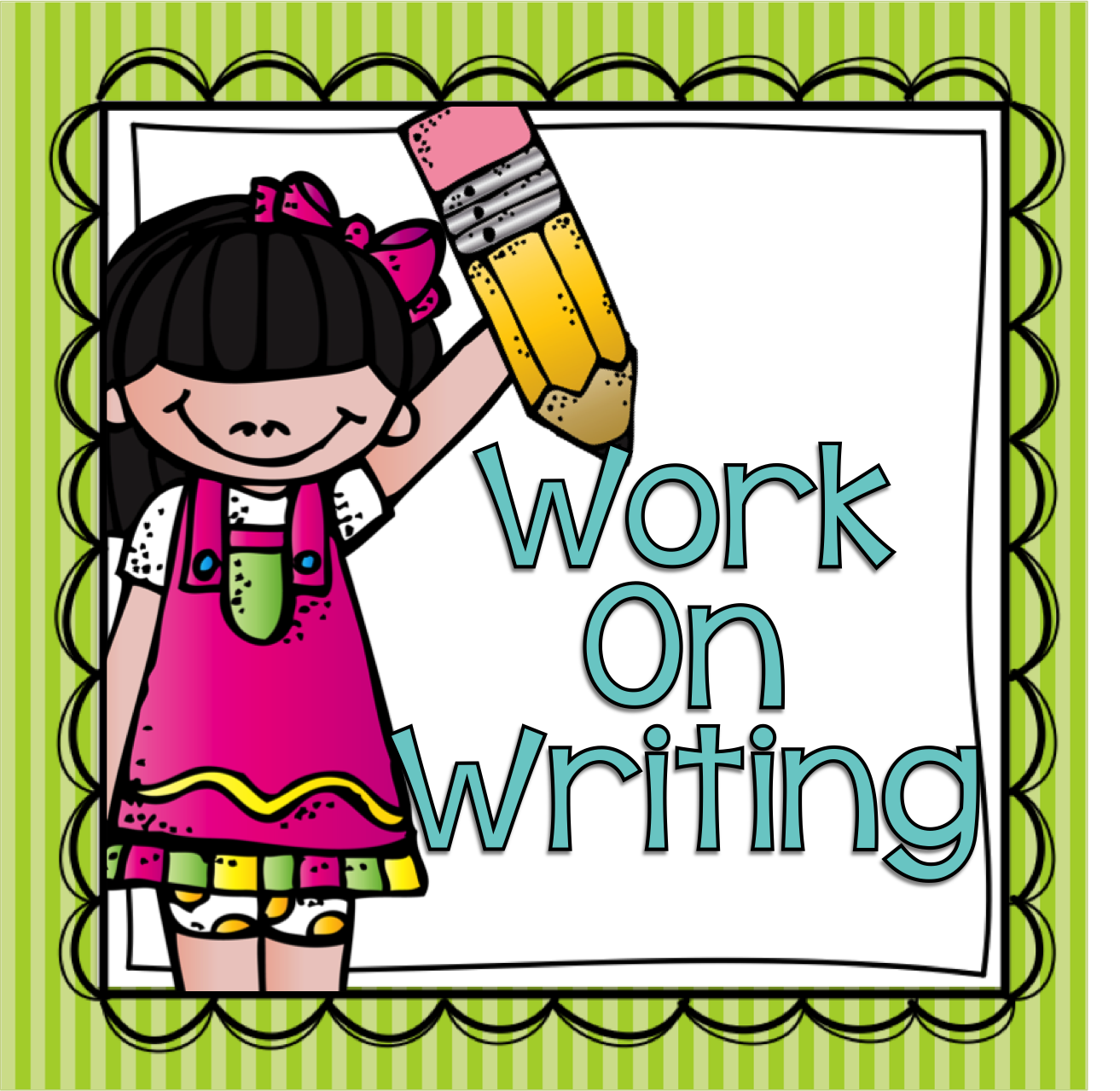 Daily 5 Work On Writing Clipart.