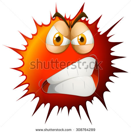 Angry Face Stock Images, Royalty.