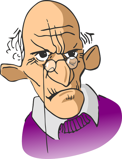 Free vector graphic: Elderly, Wrinkled, Man, Old, Aged.