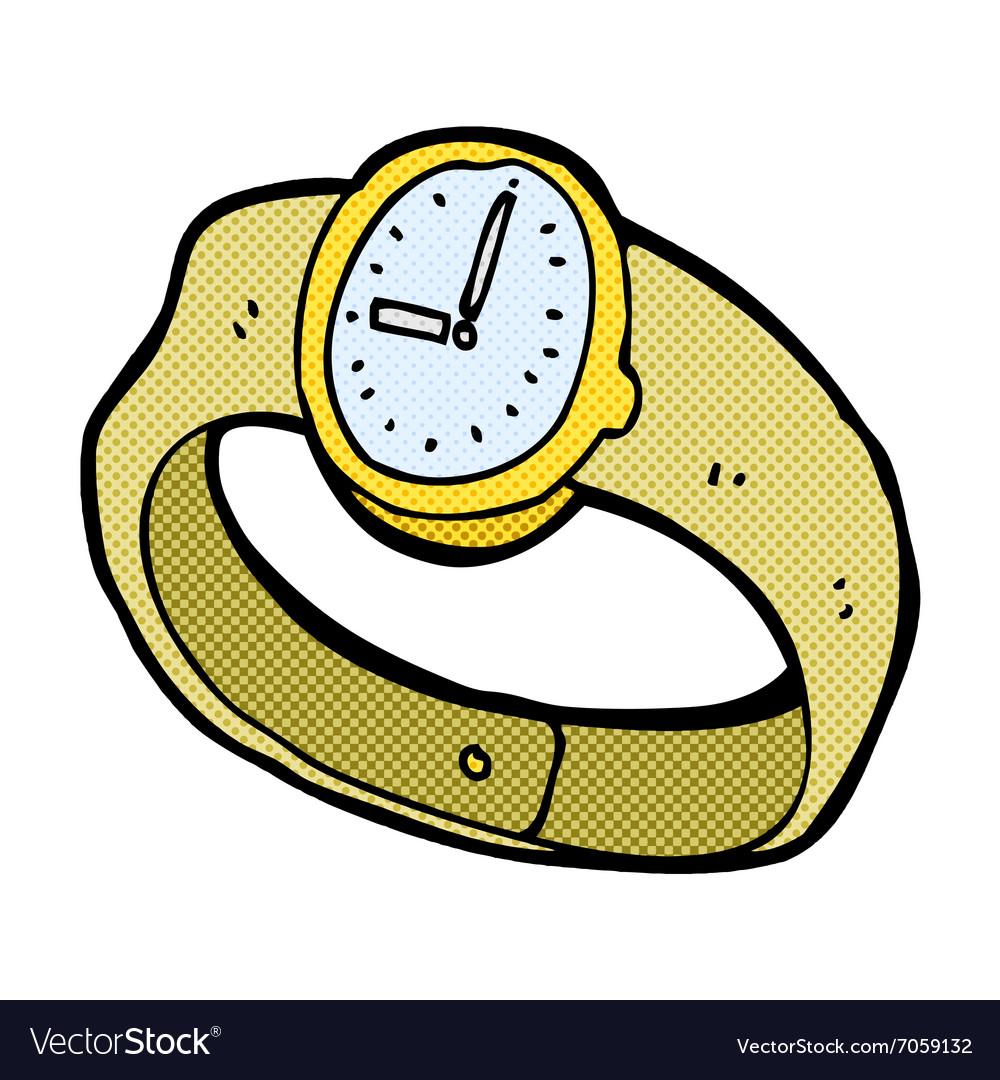 Comic cartoon wrist watch.