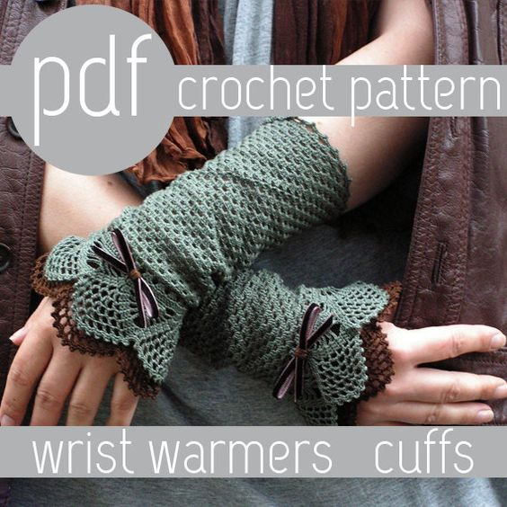 GORGEOUS patterns I want want want! PDF CROCHET PATTERN.