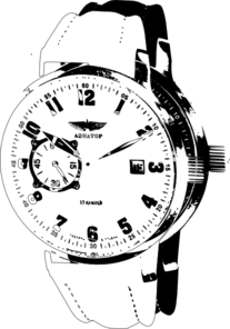 Wrist Watch 3 Clip Art at Clker.com.