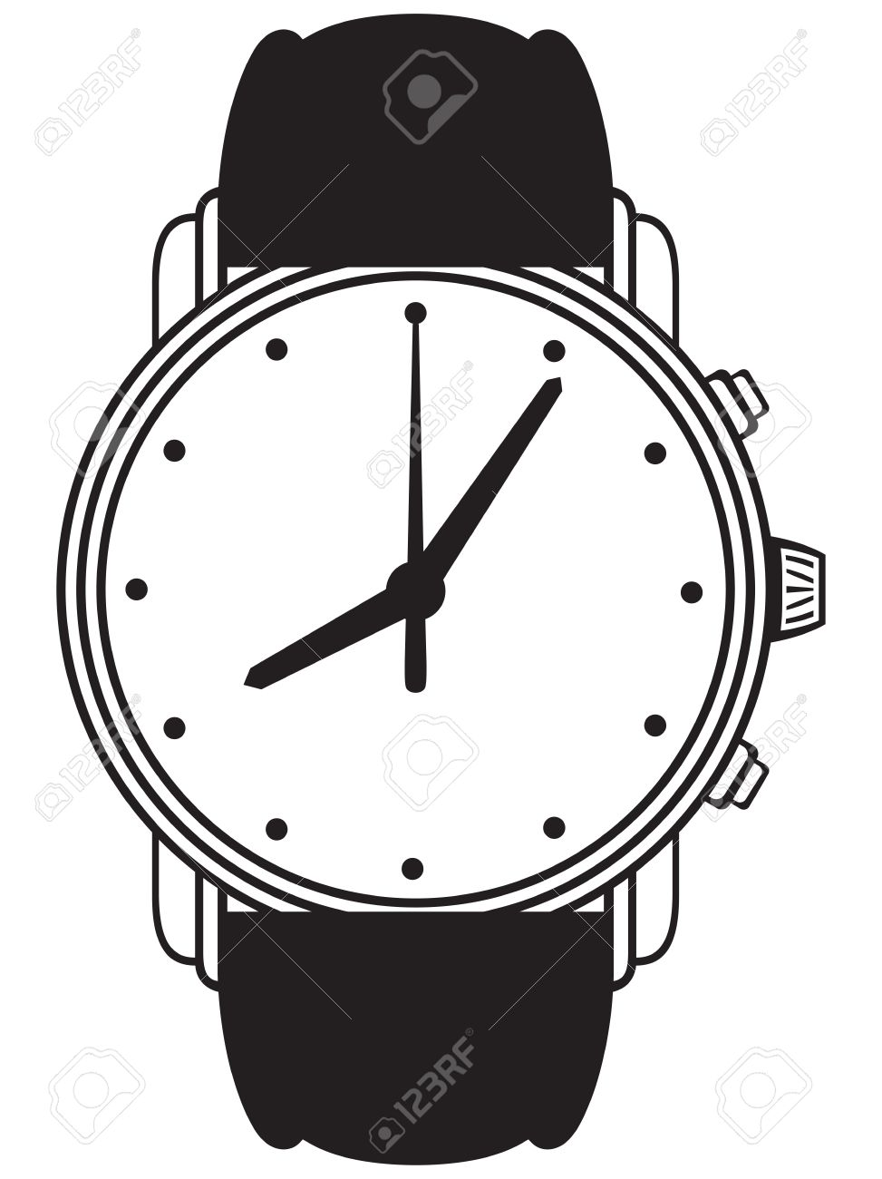 8,401 Wristwatch Stock Illustrations, Cliparts And Royalty Free.