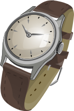 Wrist Watch Clip Art Download.