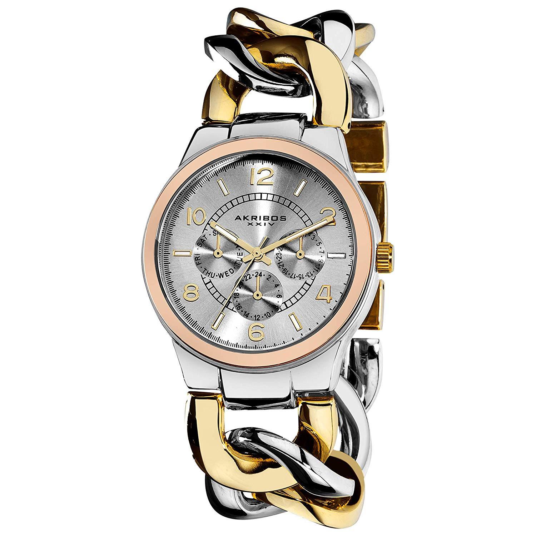 Akribos XXIV Women\'s Multifunction Watch.