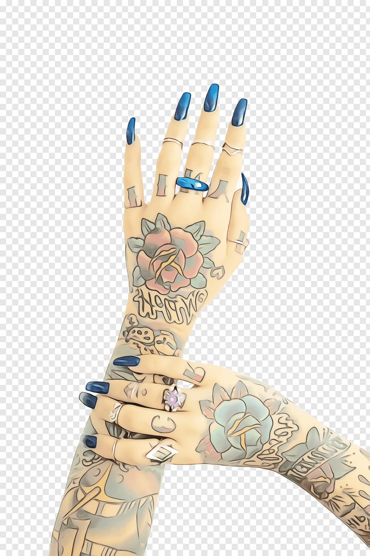 Finger Hand model Mehndi Tattoo, Watercolor, Paint, Wet Ink.