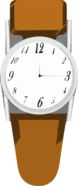 Wrist Watch 5 Clip Art at Clker.com.
