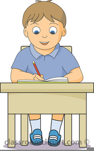 Writing Letter Clipart.
