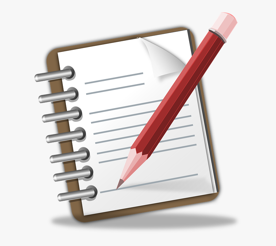 Write A Note Clip Art , Free Transparent Clipart.